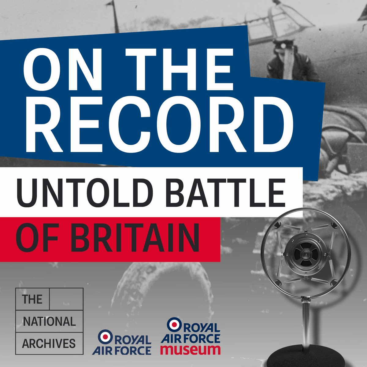 Don't miss Untold Battle of Britain, the latest episode of #OnTheRecord. This tells lesser-known stories from the Battle: The women who took part, those who travelled from abroad to join the RAF & the engineers who kept aircraft flying. pod.link/1460242815/epi… #DetectAndDefend
