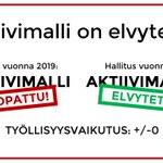 """Image for the Tweet beginning: Onko riihen suurin työllisyysteko """"Pohjoismainen"""