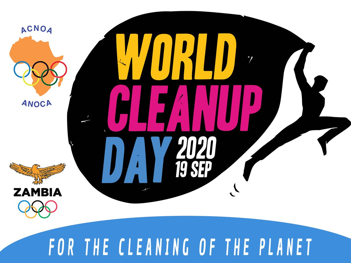 WORLD CLEAN UP DAY - We will be joining the rest of the world as we participate in the 2020 World Cleanup Day on 19 September 2020.  Follow the link to find out how you can also participate https://t.co/sPhzGC1Xfo  #worldcleanupday2020 #worldcleanupdayZambia #letsdoitworld #ANOCA https://t.co/42mrsJ5n3d