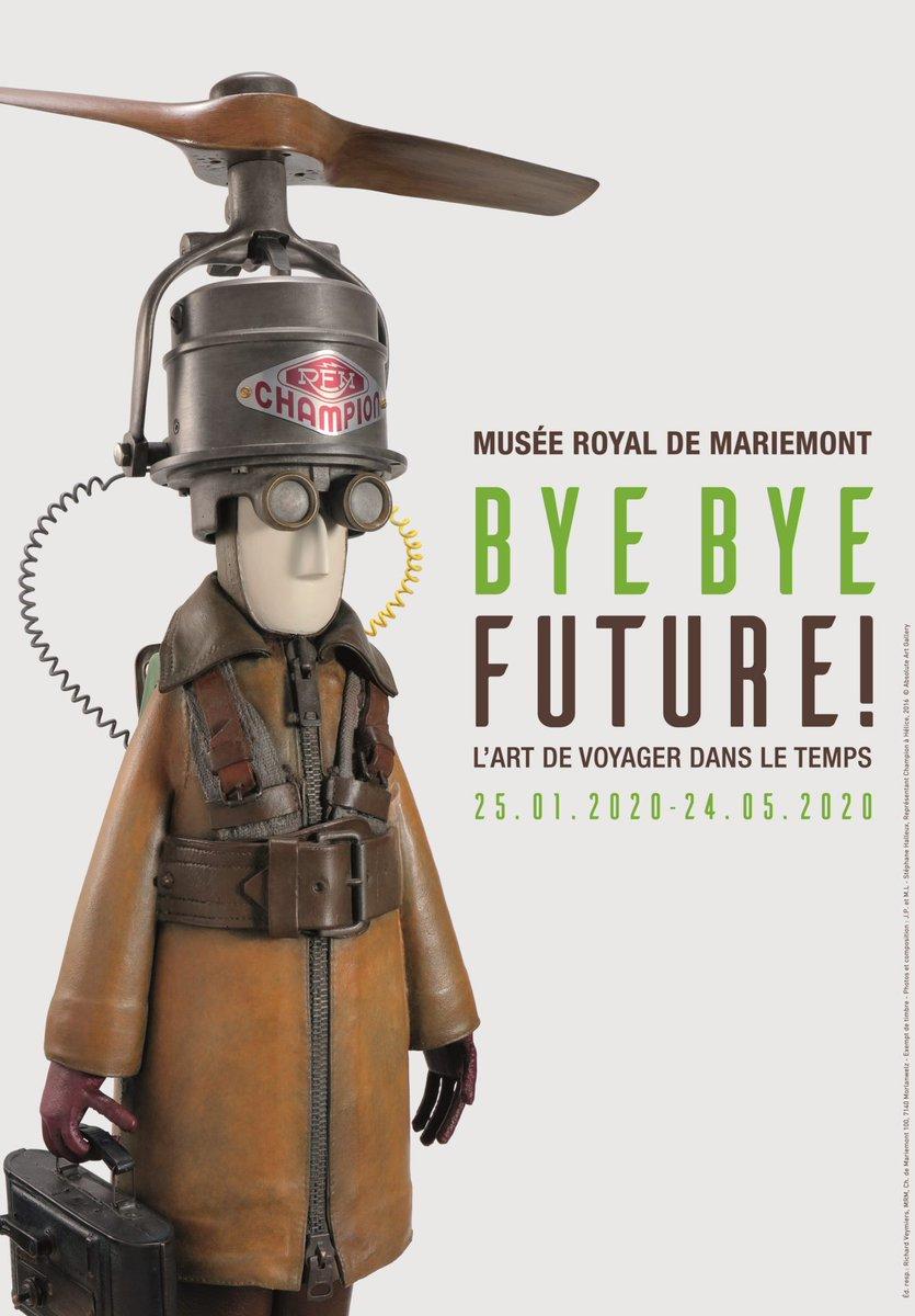 """Merci à Jan Baetens d'avoir rendu compte pour nous de la belle exposition de @LaghouatiSofia1 """"Bye bye future"""" au @MuseeMariemont.  👉https://t.co/nWT6OhLAvX https://t.co/8BcVOTq3E4"""