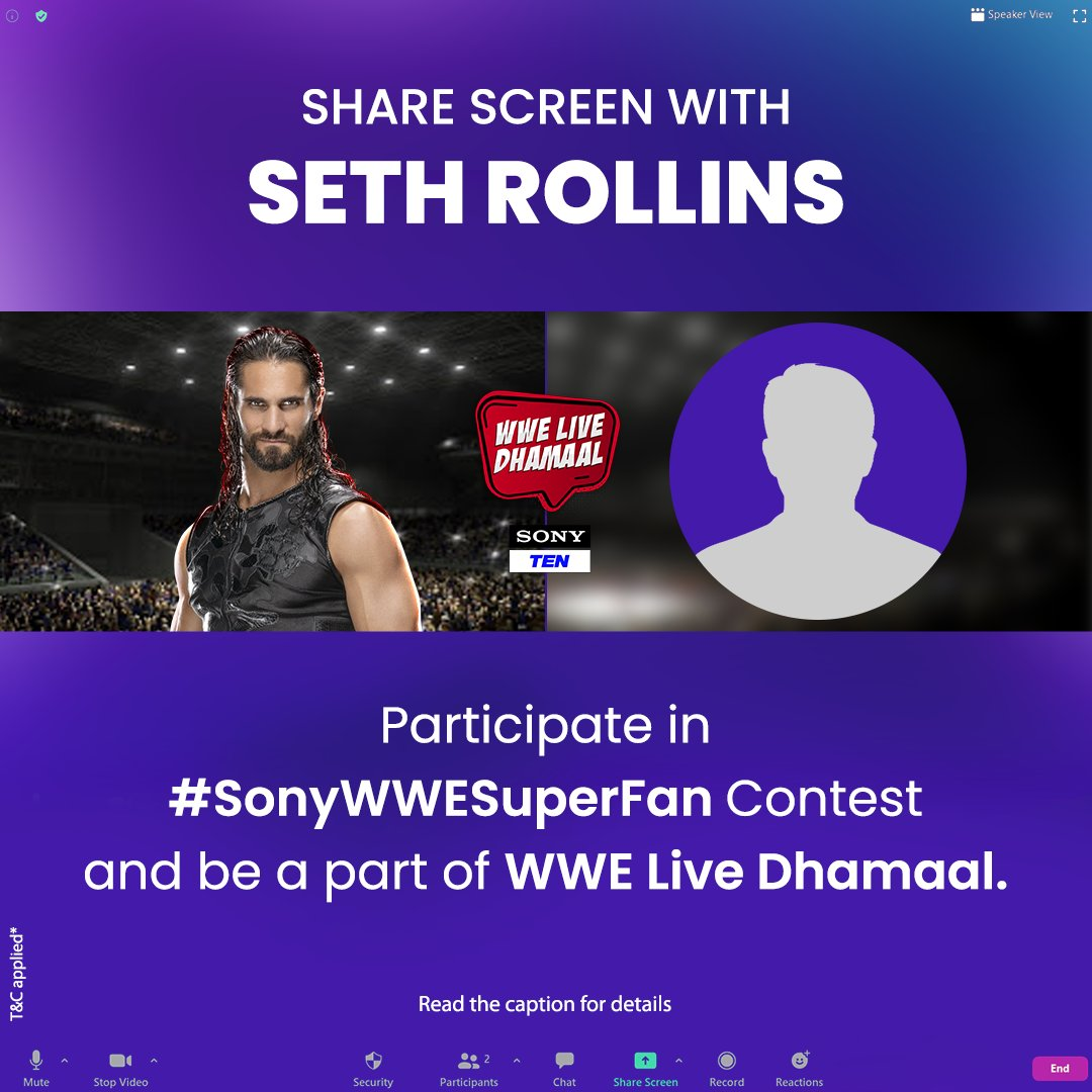 Monday Night M̶e̶s̶s̶i̶a̶h̶ with the Messiah 😎  Be a part of Seth Rollins LIVE chat 👇 - Make a video showcasing your fandom and tell us why you are his fan.  - Post it in comments using #SonyWWESuperFan and tag us.  #ContestAlert #WWEContest #Contest #SonySports #WWE https://t.co/s22WKhoDmF