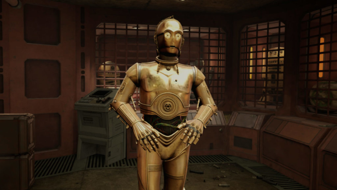 Anthony Daniels will play C-3PO in 'Tales from the Galaxy's Edge'