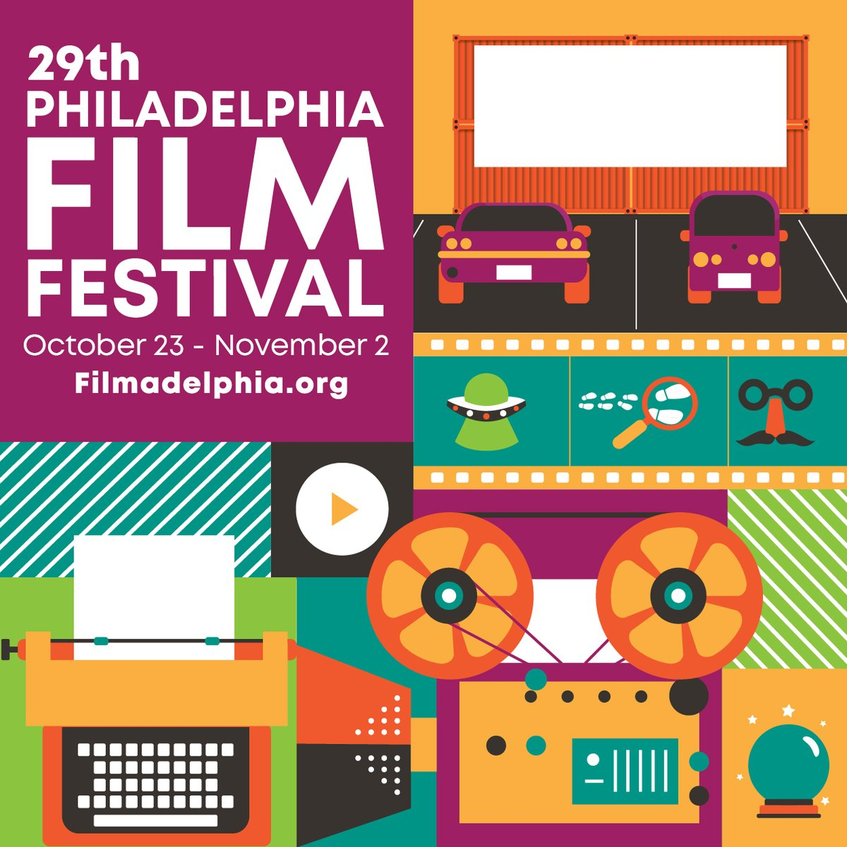 PFF29 DATE CHANGE | October 23 - November 2  It has come to our attention that October 22, the intended start date of the 29th Philadelphia Film Festival, is the same night as the final Presidential Debate. https://t.co/fzlFmIxGaO