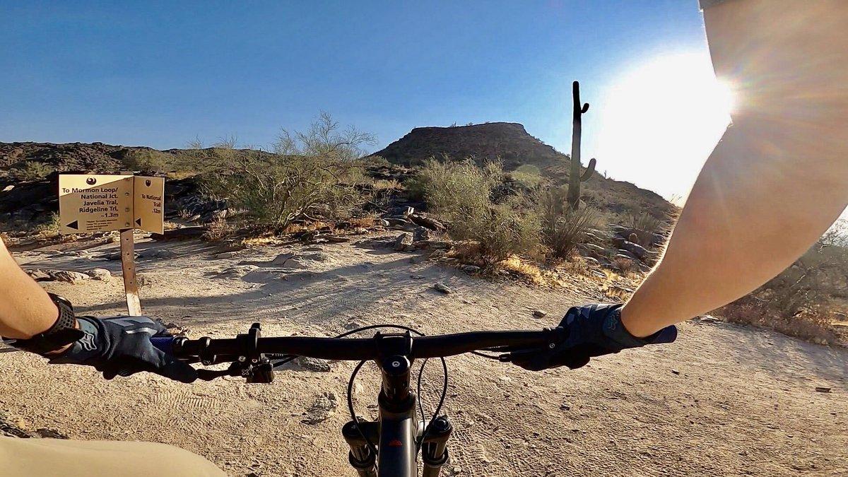 First Time Riding National Trail   South Mountain MTB youtu.be/p9kyTK90luU #MTB #mountains #mountainbiking