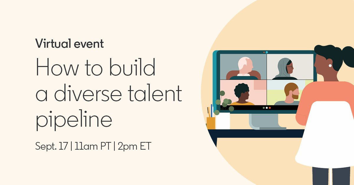As companies commit to improving diversity, talent teams are being called upon to turn commitments into actions. Join us tomorrow for a discussion on building a more inclusive talent pipeline. Follow us here to be notified when it goes live: https://t.co/j7ez3uuuco #Diversity #HR https://t.co/CfLHaWGrJN