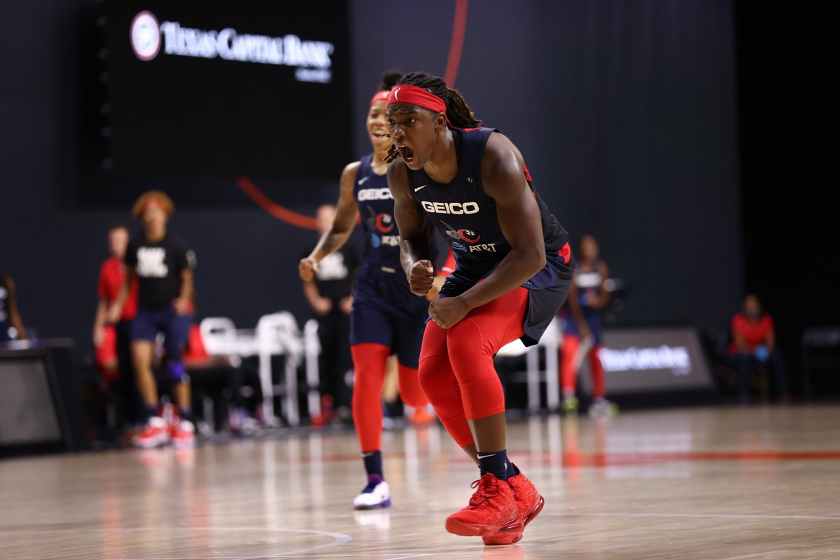 Myisha was in her BAG this season:  ➡️ 17 points ➡️ 8.9 rebounds ➡️ 51% FG  The Mystics' future is very very bright. @Mooks_22 https://t.co/jPsBdoclu4
