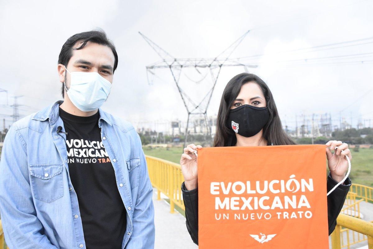 Desde #MovimientoCiudadano hacemos un llamado a las y los mexicanos a unirnos para cuidar la tierra, el aire y el agua. A independizarnos del pasado que tanto daño le ha hecho al medio ambiente. A exigir al @GobiernoMX que deje de destruir la naturaleza.   #EvoluciónMexicana. https://t.co/iOHKnpBs1G