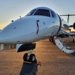 Image for the Tweet beginning: #Flexjet's Legacy 600 casts a