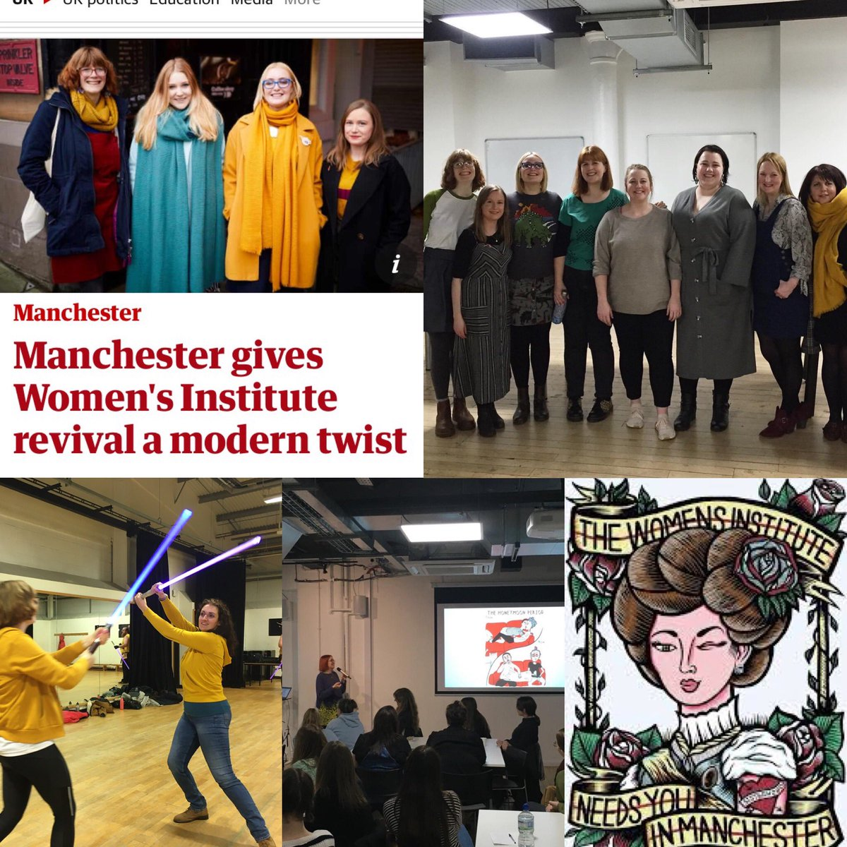 It's #WIday ! The @womensinstitute turns 105 today! So proud to be a part of an institution that's supporting women while smashing stereotypes 🐝🐝🐝 @ManchesterWI #widay #wilife #womensinstitute