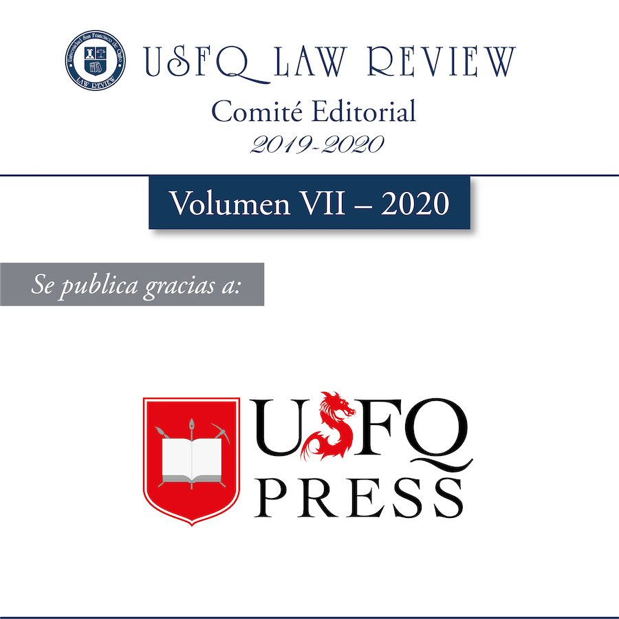 Se publica gracias a: USFQ Press. https://t.co/ri0s0z5ozR