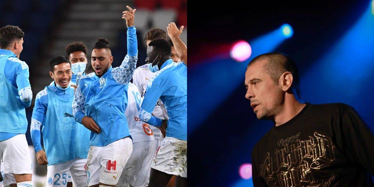 Quand Kool Shen veut se battre avec Dimitri Payet à la fin du match PSG-OM (VIDEO) (Mise à jour) https://t.co/riYGN69qcN https://t.co/ndTYSJ2S8p