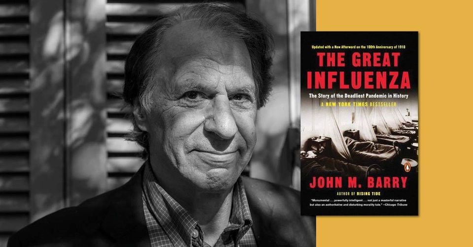 Join us online for this FREE event! Hear from award-winning author John M. Barry as he discusses what we can learn from history ...