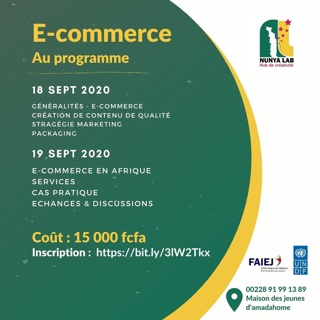 Vous voulez avoir votre site e-commerce professionnel en Afrique et augmenter vos ventes ? Vous ignorez par où commencer et même ce qu'il faut faire ou prévoir.  Lien d'inscription https://t.co/W9rNJnDtHH  #ecommerce #afrique #entrepreneurs #nunyalab https://t.co/I7vGMl8YQw