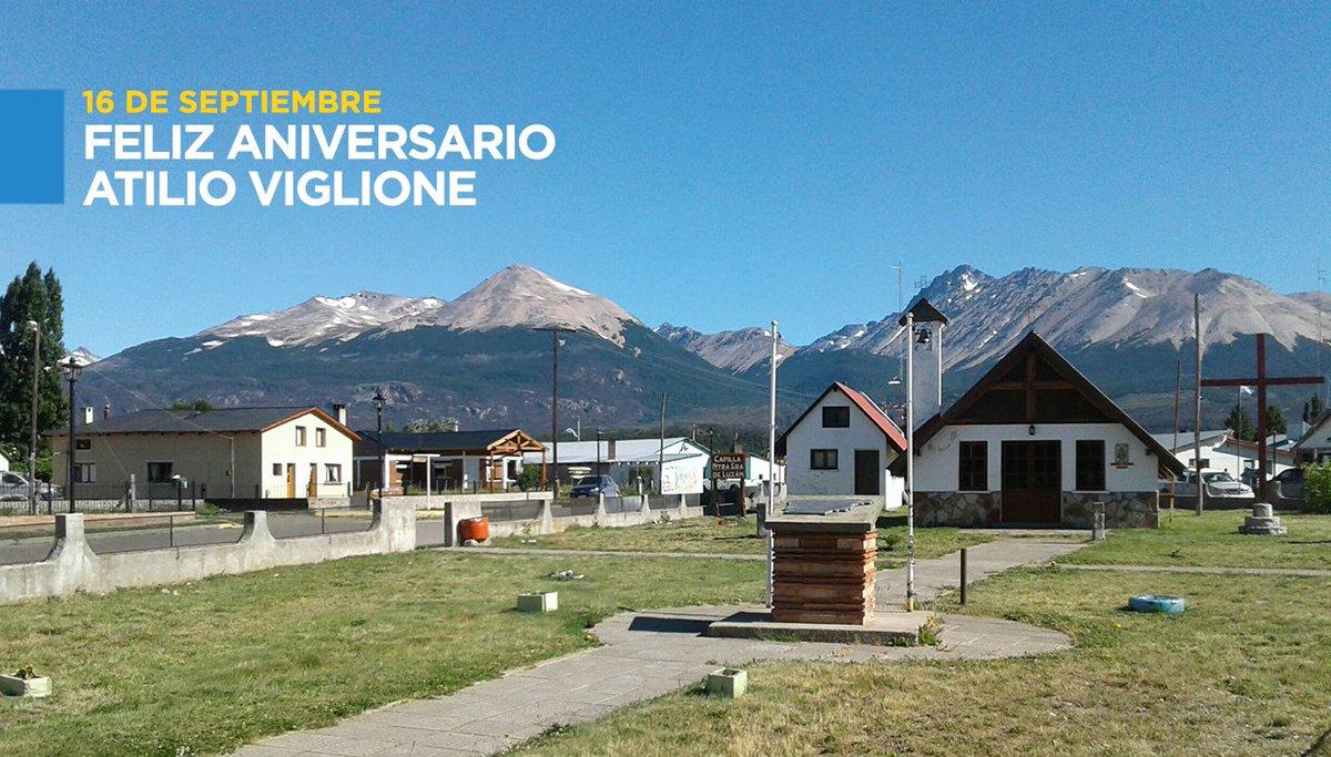 ¡Feliz cumpleaños Atilio Viglione! Espero pronto poder compartir con todos los vecinos este nuevo aniversario. Sigamos haciendo grande a nuestra provincia, con el amor y el compromiso de los chubutenses en cada lugar de #Chubut. https://t.co/j9vjjES1bk