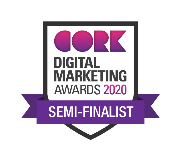 We made it to the semi-finals! @CorkChamber   🖥️ Best Website  📱 Best in Content Creation  💾 Best Use of Facebook  🖱️ Best Use of Digital Marketing for Greater Good  #socialmedia #digitalmarketing #DigitalCork20 #corkcity https://t.co/TGlz90i1V1