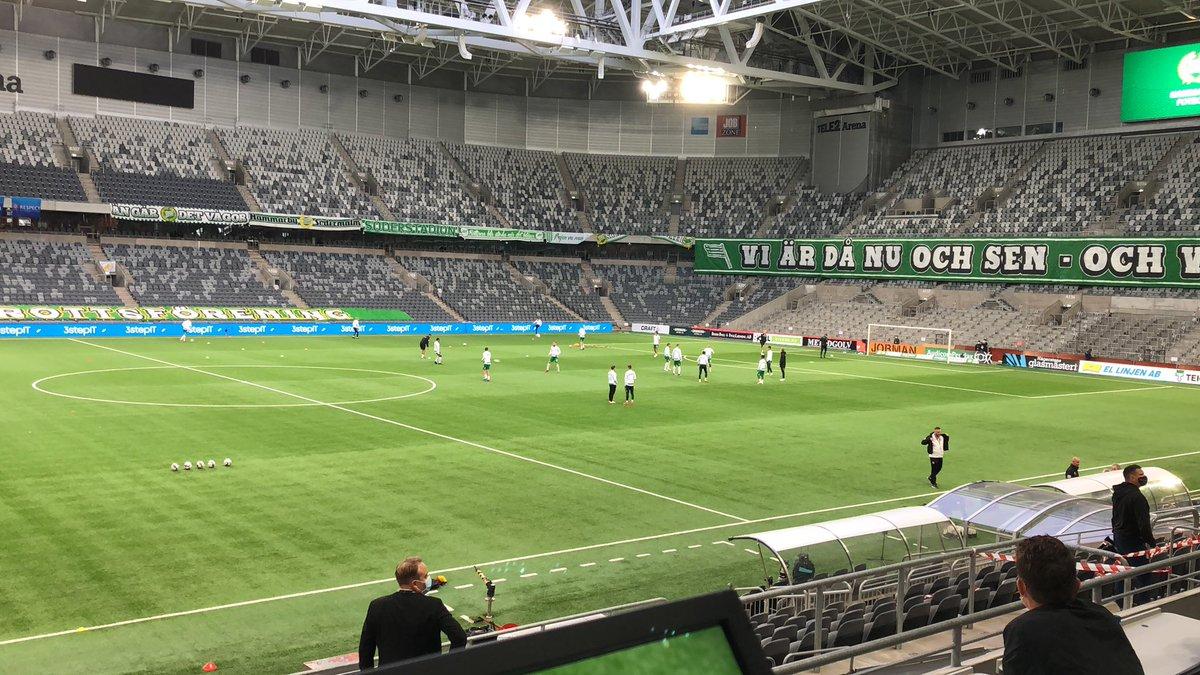 Snart dags för Hammarbys kvalmatch mot Polska giganterna Lech Poznan i Europa Leauge kvalet. Idag gäller det maxprestation för att gå vidare ikväll! #EuropaLeague https://t.co/jZP9qW5lLa