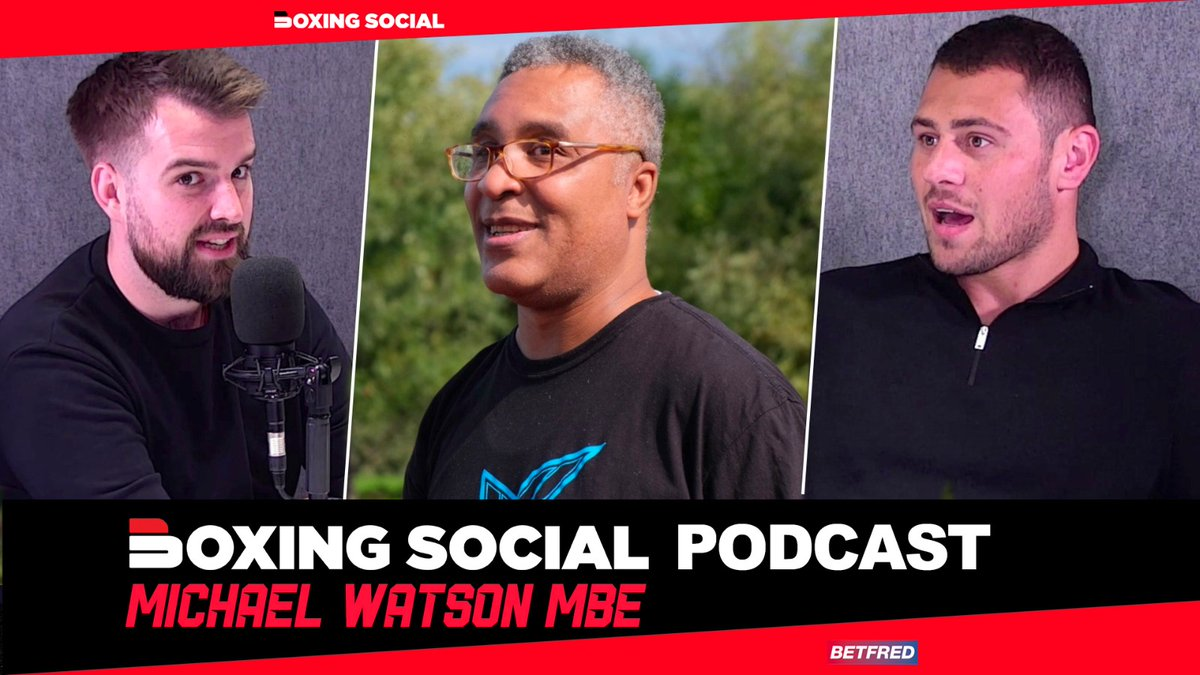 🆕 BOXING SOCIAL PODCAST 🎙  @RobTebbutt and Dave Allen talk #PovetkinWhyte2 and are joined by British icon @watson_mbe on the @boxing_social podcast.  📺 YouTube: https://t.co/BxVZUzXyc2 🎙 Spotify: https://t.co/ONIKpCDFVI  🔞 @Betfred Fight Odds https://t.co/WpCjSZKyjP  #Boxing https://t.co/7EQDMbWpOX