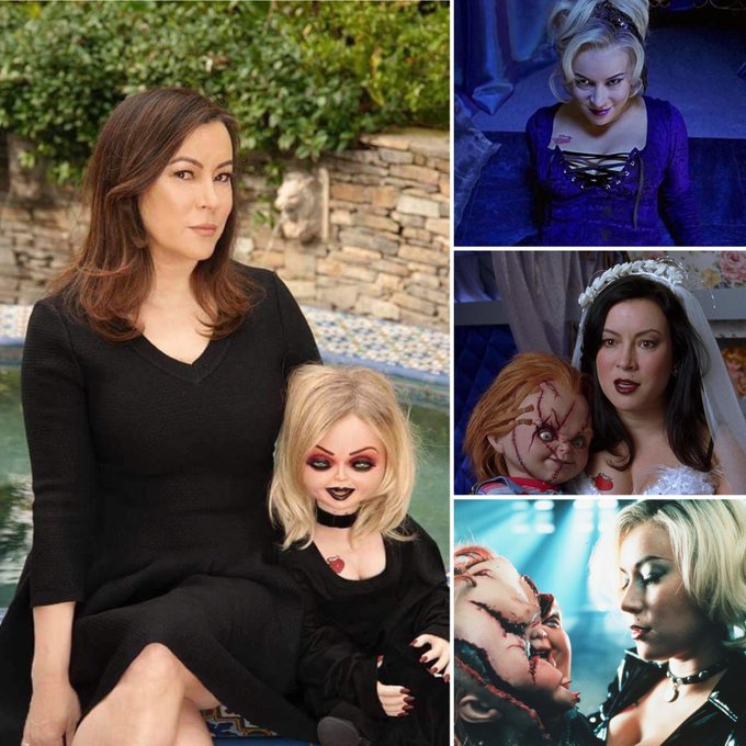 We want to wish a VERY happy horror-birthday to the lovely, talented & irresistibly devilish, Jennifer Tilly!