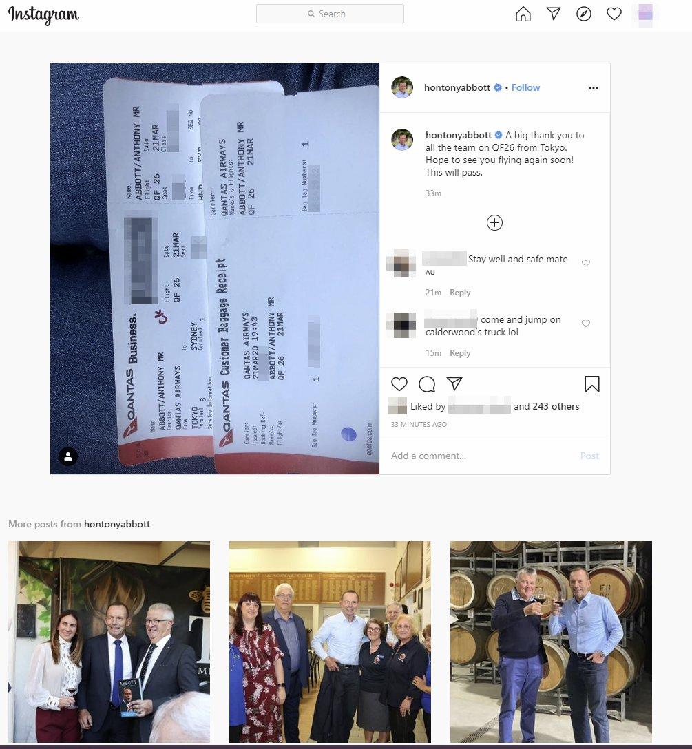 La enrevesada e increíble historia del tipo que llegó hasta el pasaporte del Primer Ministro australiano a través de la foto de una tarjeta de embarque en Instagram #seguridad #aerotrastorno   por @Alvy https://t.co/r7vPjBBe8d https://t.co/aHZgtLXKVJ