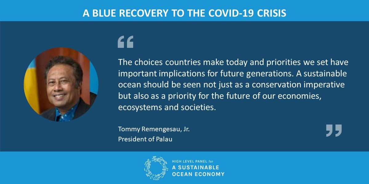 New #OceanPanel-commissioned research identifies actions for charting a sustainable and equitable #bluerecovery in the wake of #COVID19.   Read more: https://t.co/oOvehwGyDE https://t.co/YRgQzNfYBW