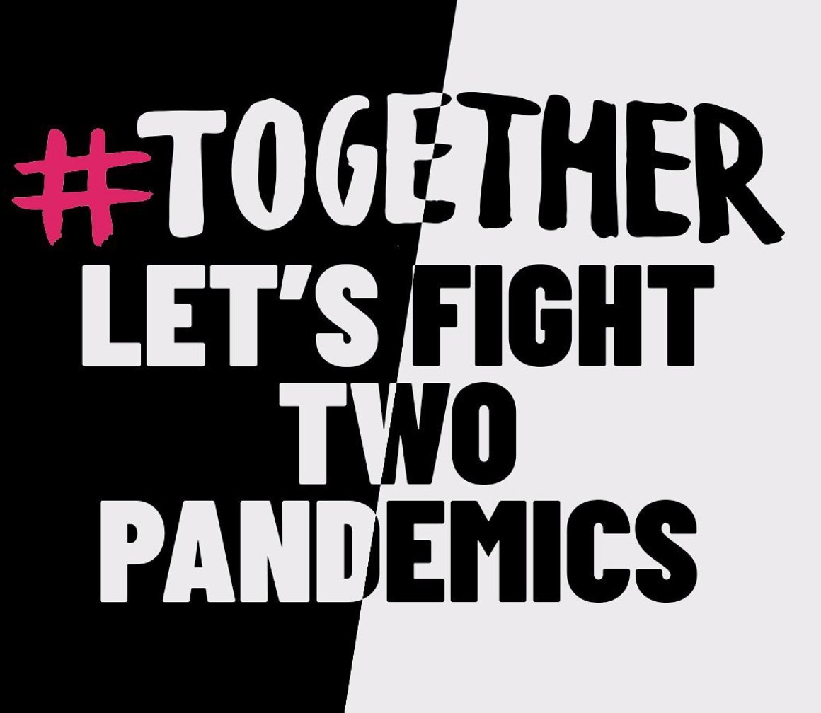 The #TOGETHERFUND has partnered with @OfficialWJSFF to raise money for causes battling both COVID-19 and racial inequality - two pandemics that we must work together to fix: ow.ly/rZSB50zCUNS #coronavirus #covid19 #racism #race #racialinequality