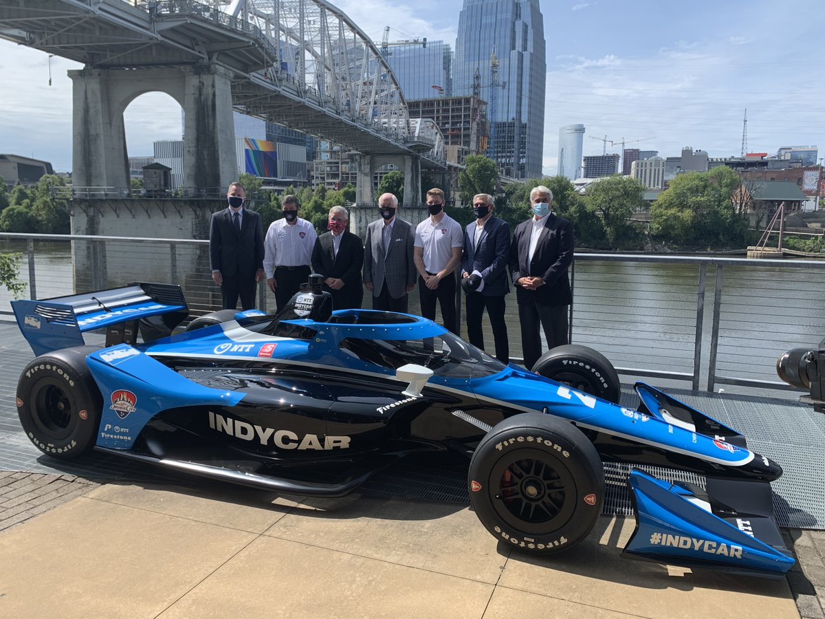 The NTT INDYCAR SERIES is bringing a new sound to the Music City on August 6-8, 2021.   Read: https://t.co/vBVCJMNTrU  #INDYCAR // @MusicCityGP https://t.co/nAjviuBivU