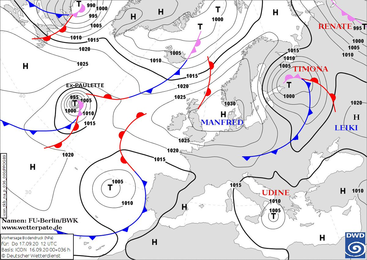 So many Godfathers! Greece assigned the system the name #Ianos (Ιανός). With the German weather service using the name #Udine .To further the confusion, the Turkish used the name #Tulpar and the Italians used the name #Cassilda