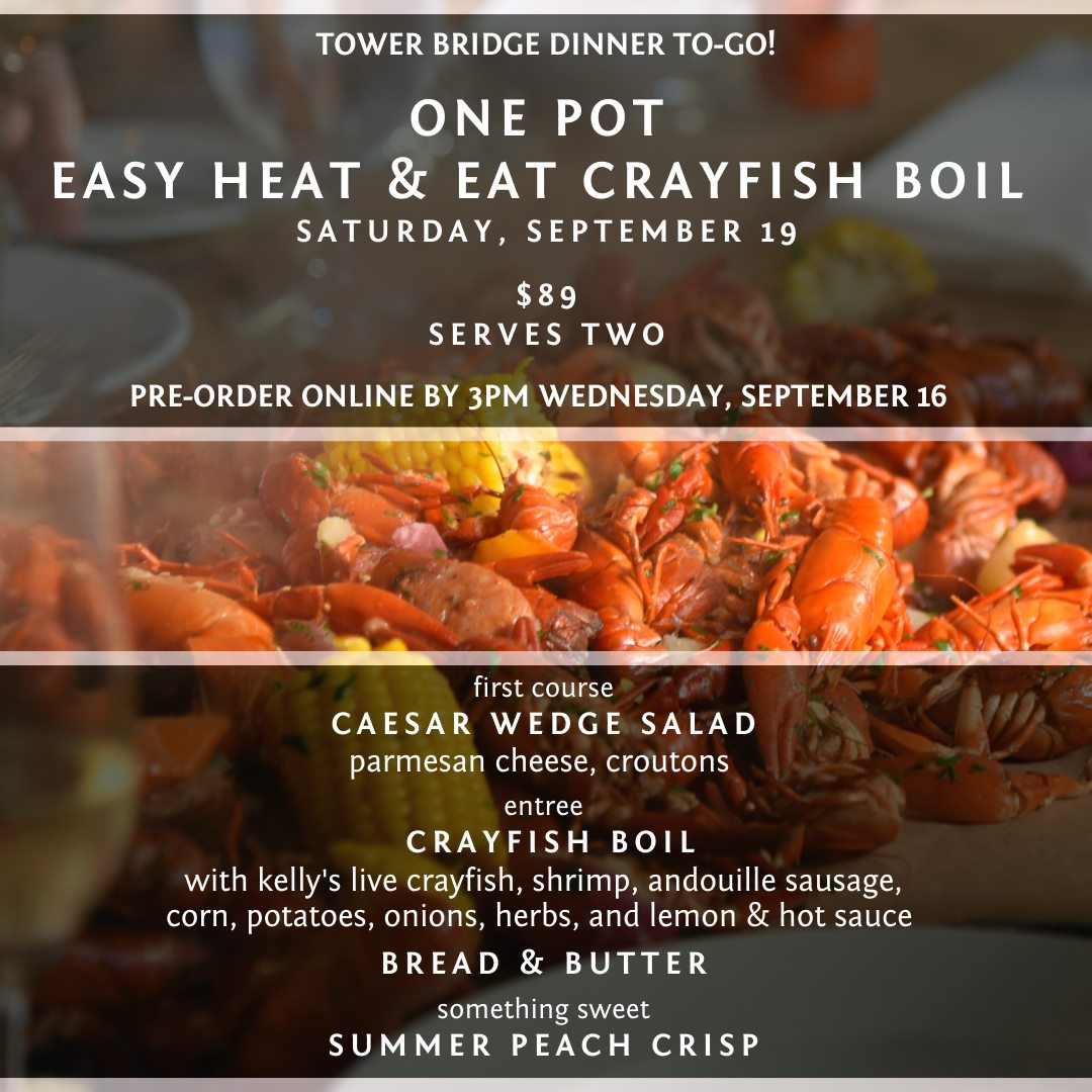 REMINDER: You have until 3pm today to order your Selland's Market Cafe Tower Bridge Dinner To Go Heat & Eat Live Crayfish Boil!  Pre-Order Online ⤵️ https://t.co/WfgTXlbRDB  @SellandFamily @VisitSacramento https://t.co/wlxSelqdUu