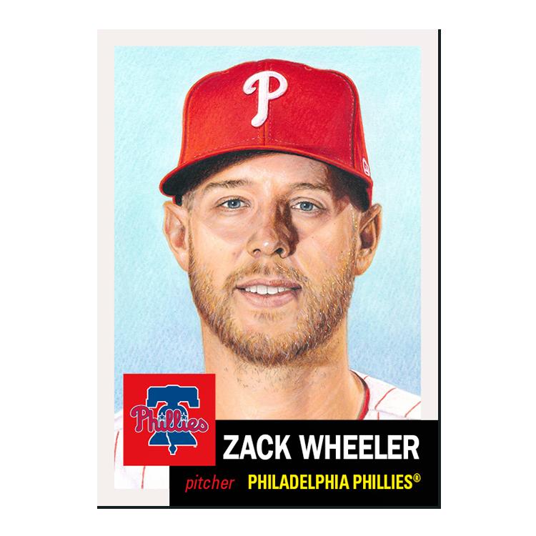 New week of the #ToppsLivingSet!  #347 Zack Wheeler, Philadelphia Phillies #348 Donovan Solano, San Francisco Giants https://t.co/GOZoBMGVep