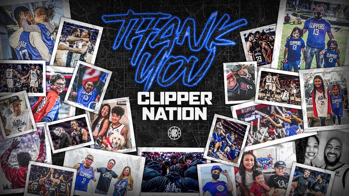 Thank you for your support this season, #ClipperNation.