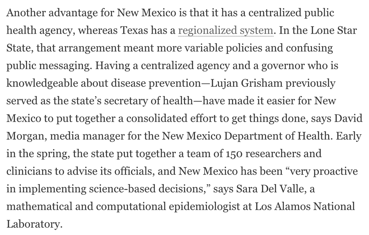 How New Mexico Controlled the Spread of COVID-19 https://t.co/r8YM7NlgBx via @sciam   #NMStrong https://t.co/Z3eUVqk5Et