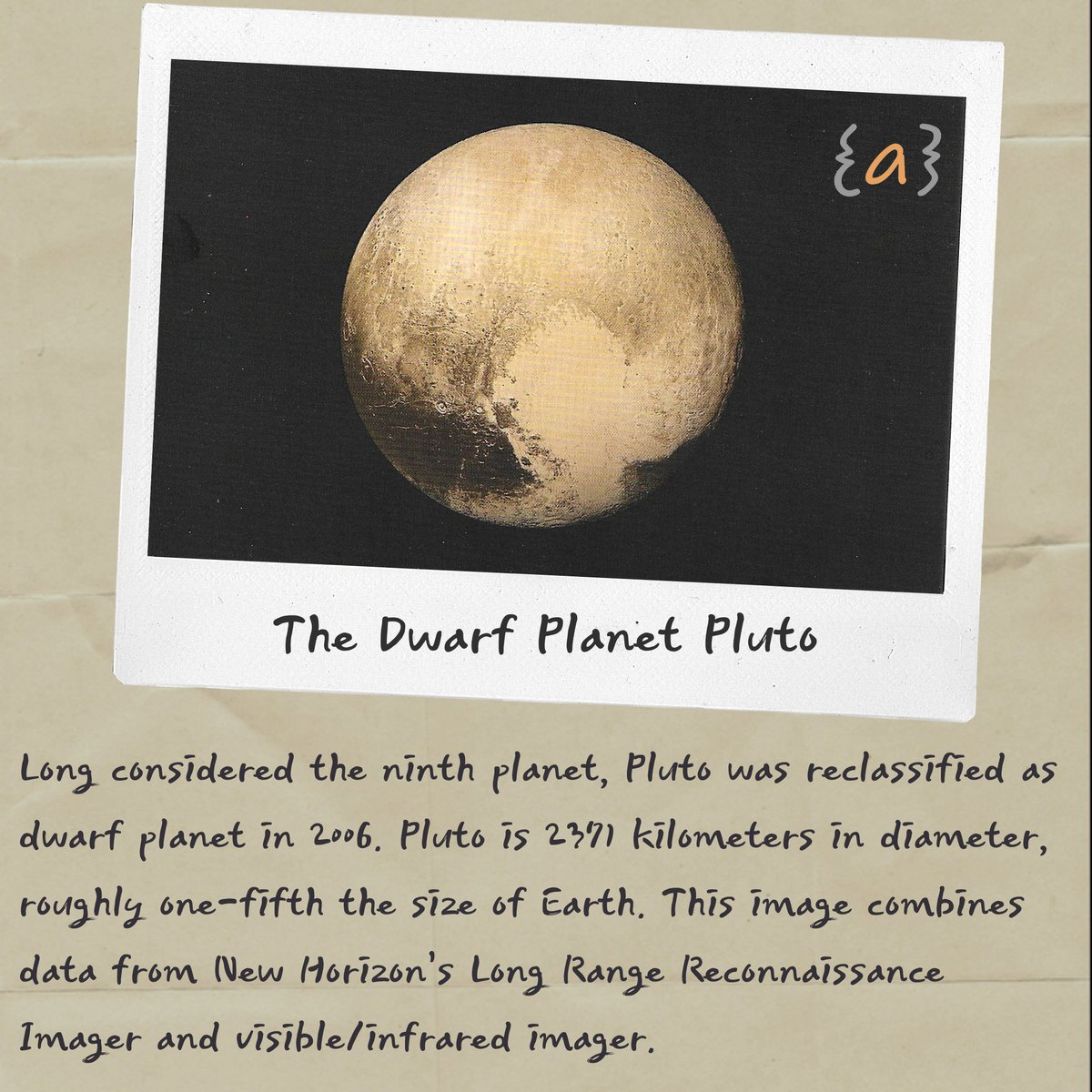 The Dwarf Planet Pluto #dwarf #planet #newhorizon #smallest #spacephotos #journalofankit https://t.co/pKeSMLaLvZ
