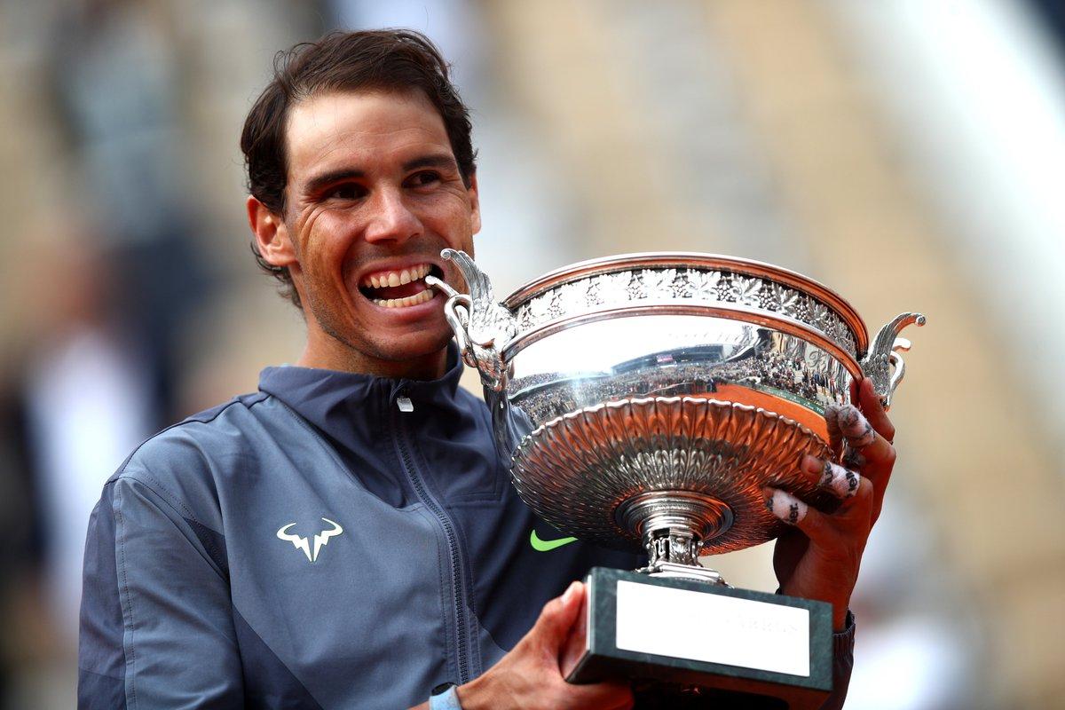 .@RafaelNadal's last match on clay...  @rolandgarros #IBI20 https://t.co/veALaXvFEZ