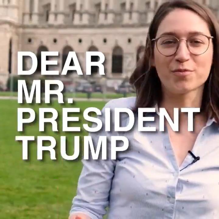 """In Österreich explodieren zwar keine Bäume, wie U.S.-Präsident @realDonaldTrump behauptet. Aber auch hier hat der Klimawandel schon große Schäden angerichtet, sagt SPÖ-Umweltsprecherin @frauherr in ihrer Botschaft an Trump. """"Sign the Paris Treaty and stop talking bullshit!"""" https://t.co/guKVQDm7OM"""