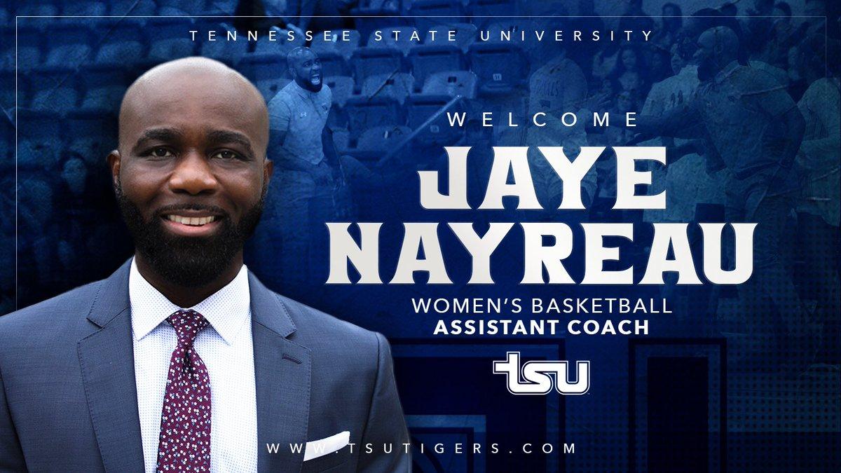 📰 Jaye Nayreau Named TSU Women's Basketball Assistant Coach  ➡️ https://t.co/68i3kjE0Tk #BigBlueRising https://t.co/XO7VoVXeru