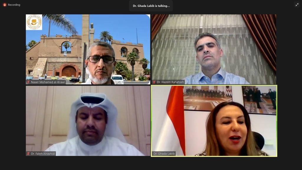 Public sector leaders from Egypt, Jordan, Libya & Kuwait shared their multidimensional operational challenges in keeping / boosting productivity during pandemic and beyond. Joint @WorldBankMENA @UNDPArabStates @scpd_kw Ideathon's prep webinar series to equip participants w/ info https://t.co/6IPY5XiKvn