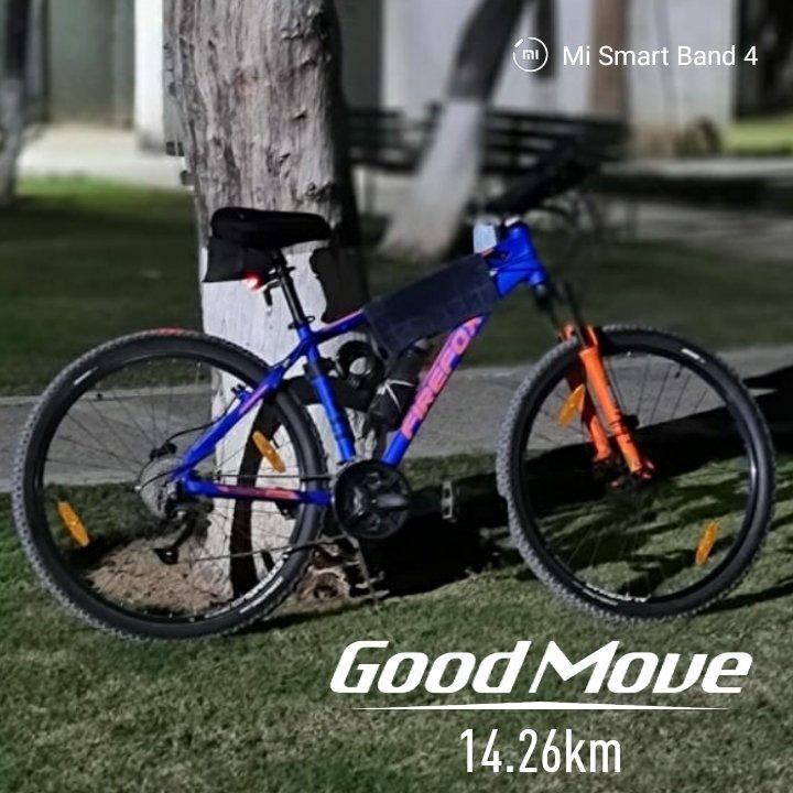 Double d #fun #morning #evening #bicycle #RIDE #Firefox #NUKE #29er #bike d #meanmachine commute thru #cycling today on #WorldOzoneDay #26km #Healthy #Ride @firefox_bikes @CycleTrek #kunalsajan #Ludhiana #Riverside #Drive #LeisureValley & #Verka #Park #Walk #cyclingtrack 🤗🏁🎶🚲 https://t.co/yI8klxkM3S