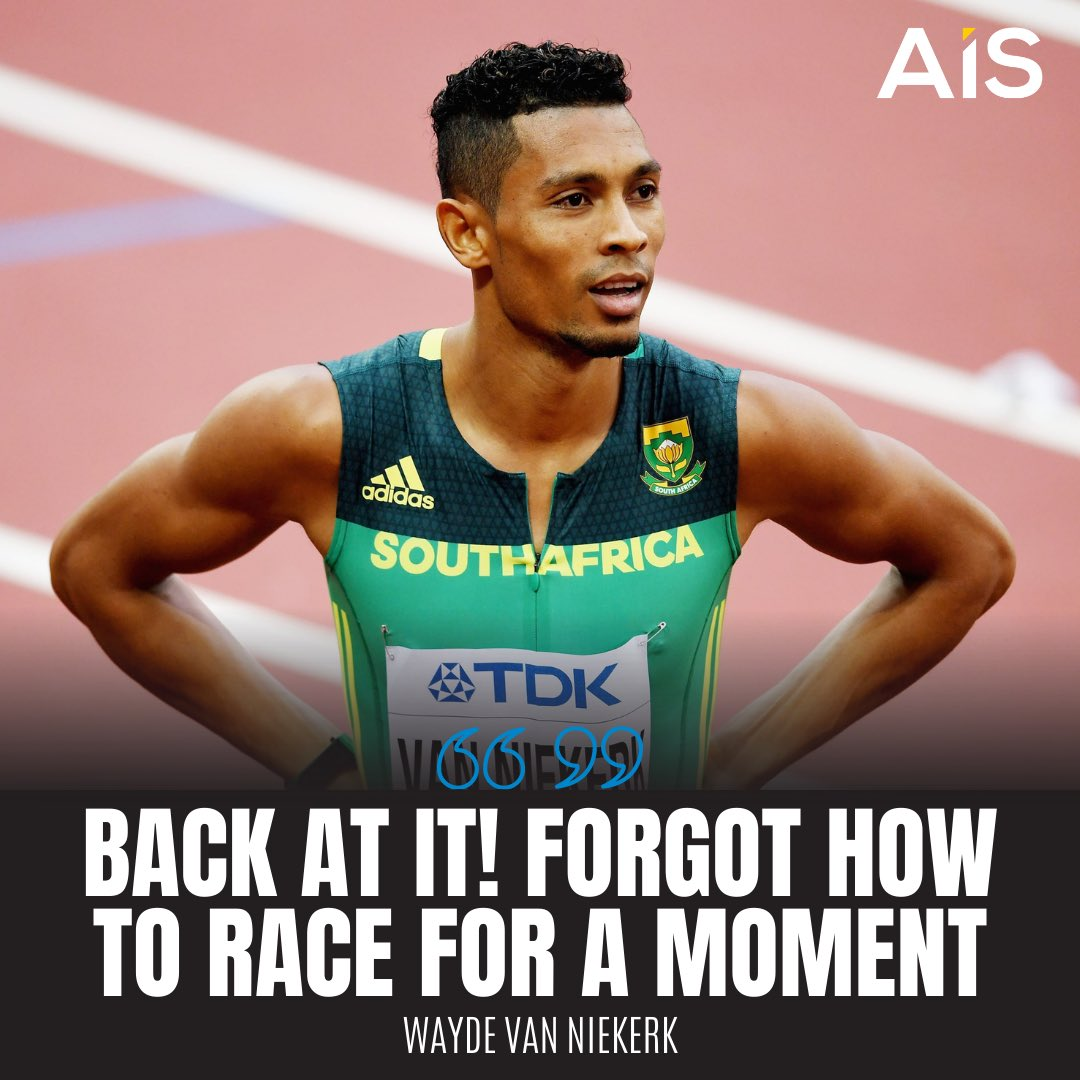 South Africa's Olympic 400m champion and world record holder Wayde van Niekerk returned from injury on the international stage with a victory 🇿🇦  - This is first competitive race outside South Africa since 2017 https://t.co/fopEvBsx5j