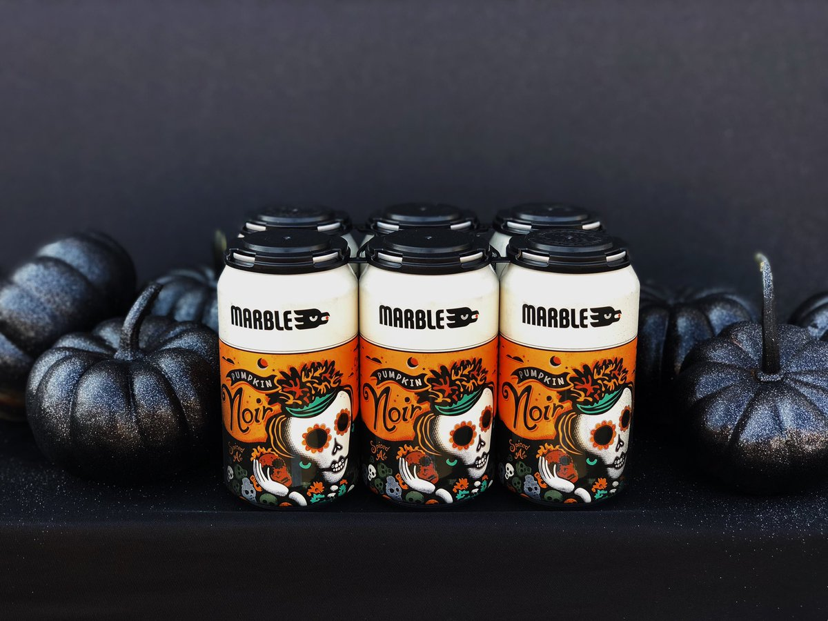 🎃PUMPKIN NOIR IS HERE🎃 An ale with the perfect balance of carbonized fruit, delicate spice & velvet viscosity.  8.1%ABV Available on tap and in cans at ALL LOCATIONS!!! #craftbeer #nmbeer #pumpkinnoir #darkpumpkin #pumpkinale #pumpkinbeer #summersover #fall #hurryuphalloween https://t.co/zzjhU8GqmW