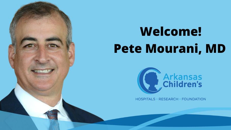Arkansas Children's has named Pete Mourani, MD, as president of our research institute and senior vice president and chief research officer for the health system. Read more about our newest champion for children here: https://t.co/Ce2F8L8BkU @BeckersHR https://t.co/wcNnsjdO7G