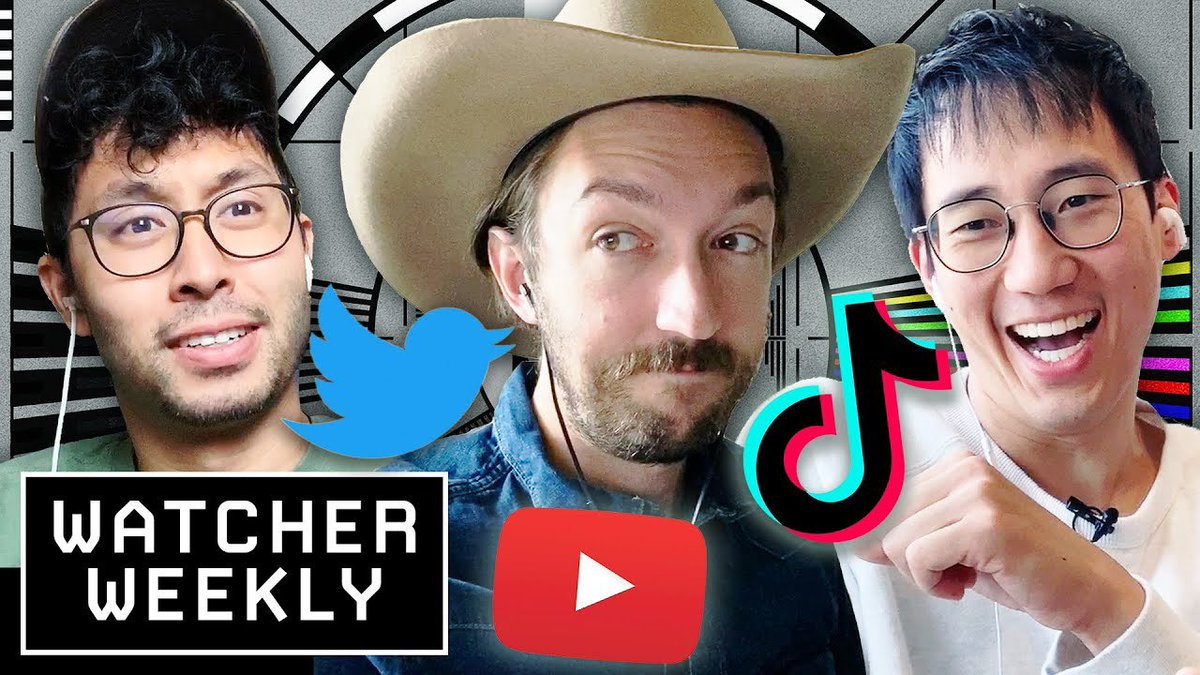 New Watcher Weekly is up! We react to funny TikToks & Talk about WAP, the single. https://t.co/Y9tFl8T2t3 https://t.co/Ak3PGlH2N3