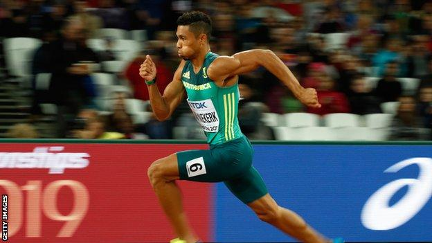South Africa's Olympic 400m champion and world record holder Wayde van Niekerk returned from injury on the international stage with a victory. https://t.co/23JMe1HpHt https://t.co/0iOlr7WsSx