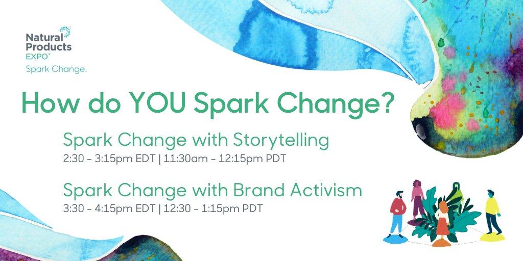 We have 2 exciting panel & community forums today during the Mission-Driven Business Community Event! In 30 minutes we'll be focusing on the power of #storytelling and the following hour will be focused on the importance of #brandactivism!  #SparkChange #MissionDriven https://t.co/ZdwZfqNhoJ
