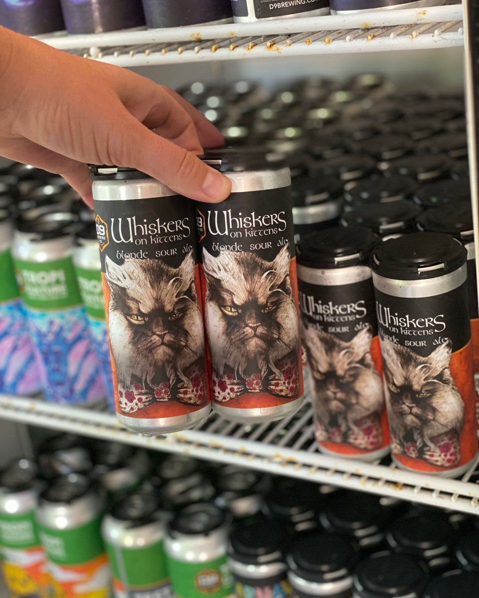 🐱 Grab yourself a 4-pack of Whiskers on Kittens in the taproom - now available in our #sourslim cans and ready to go! 🍻 https://t.co/R14WK7pUfF
