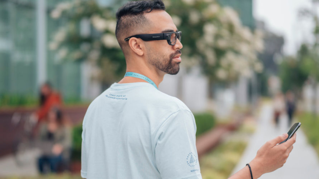 Facebook's first AR glasses are a research project called 'Aria'