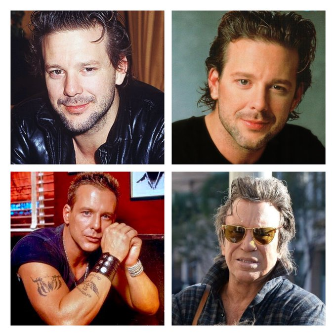 Happy 68th Birthday to Mickey Rourke! Uhhh.... what happened?