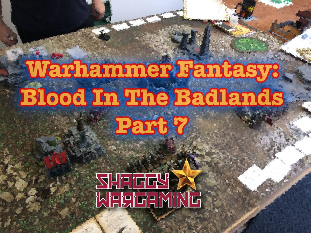 🚨 New Blog Post 🚨  On the blog is another battle report from the Blood In The Badlands campaign. This time we venture into the marshes of madness!  https://t.co/nPUhulZDXa  #WarhammerCommunity #warhammerfantasy #battlereport #tabletopgaming #oldhammer #Eeforlife #citadel https://t.co/qyCfTghIFH