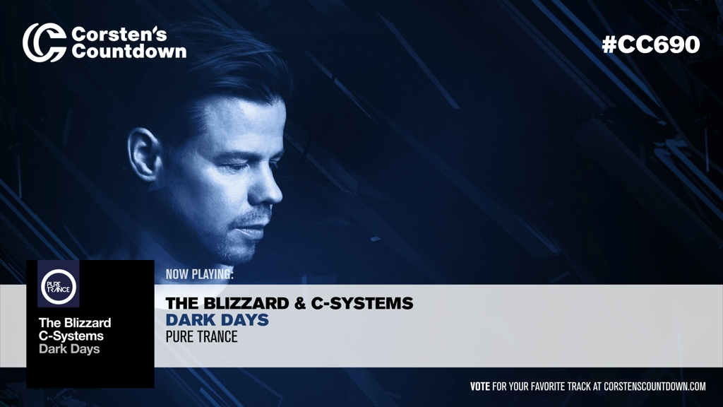 "05. Up next; @blizzardmusic & @csystems with ""Dark Days"" [@ilikeitpure] #CC690  https://t.co/b6yGlEJBC8 https://t.co/uubflo8eEM"