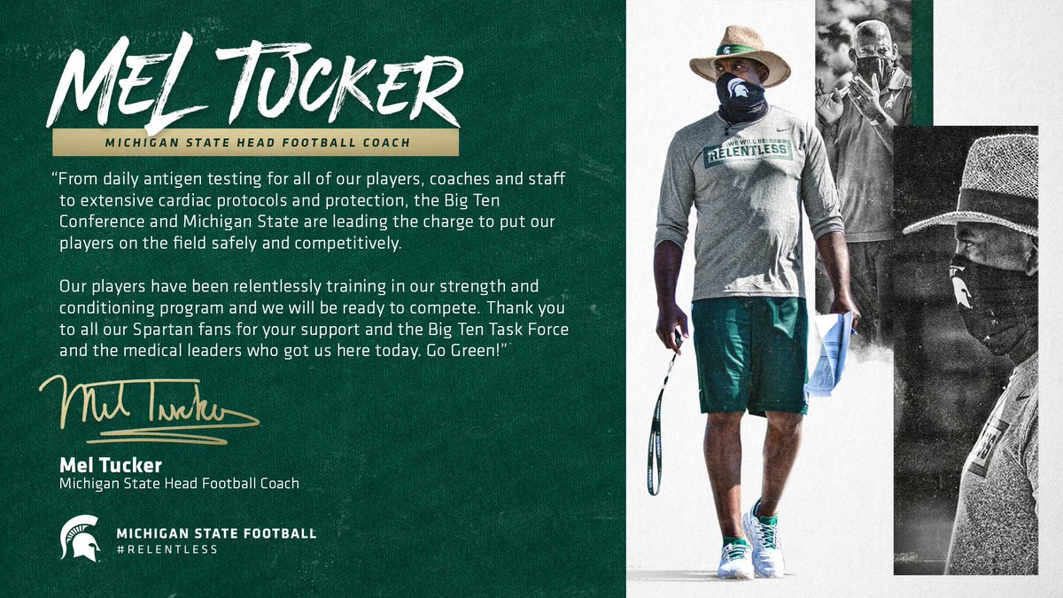 A statement from @Coach_mtucker https://t.co/RtLIo3Ebje