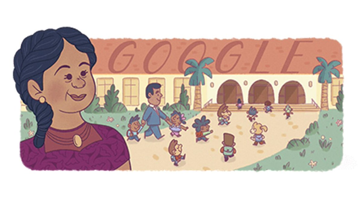 Google Doodle honors Felicitas Mendez, civil rights pioneer, for Hispanic Heritage Month https://t.co/DpQV1TL4y7 https://t.co/tO88wrpGEh